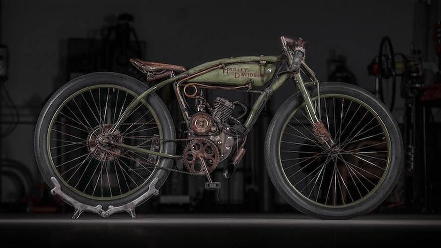 Bull Cycles Releases Harley-Davidson Board Tracker Tributes
