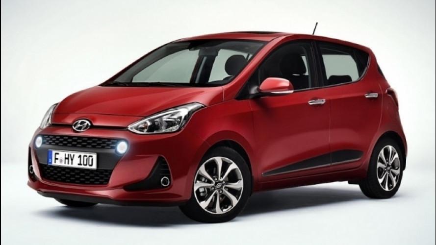Hyundai i10 restyling, ora ha quattrocchi