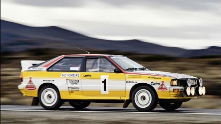 Audi, il cinque cilindri compie 40 anni