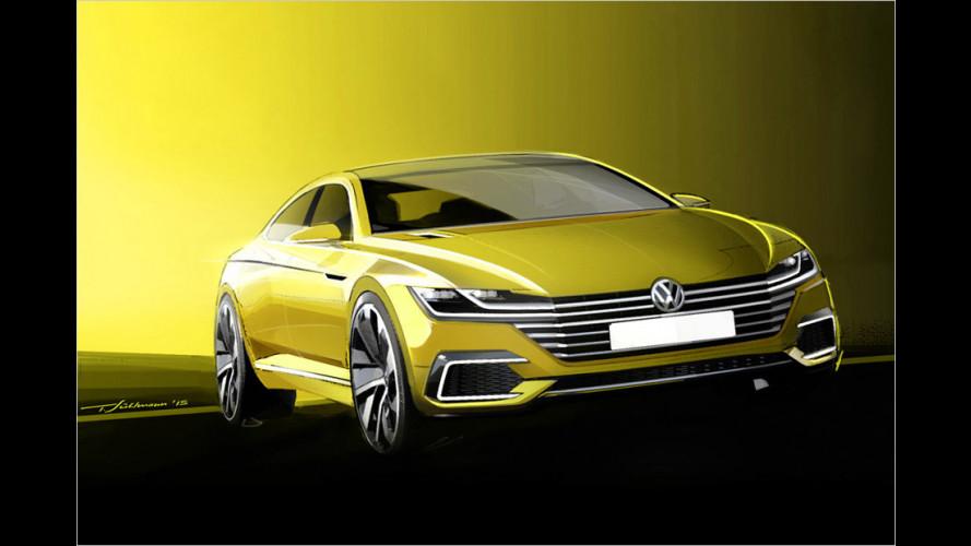 VW Sport Coupé Concept GTE: So kommt der neue CC