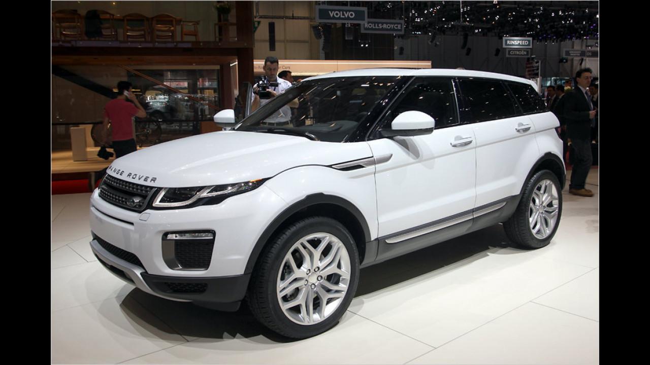 Land Rover Range Rover Evoque Facelift