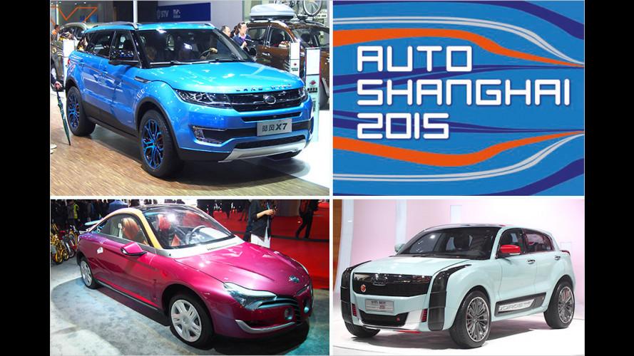Der ganz spezielle Rundgang auf der Shanghai Auto Show 2015