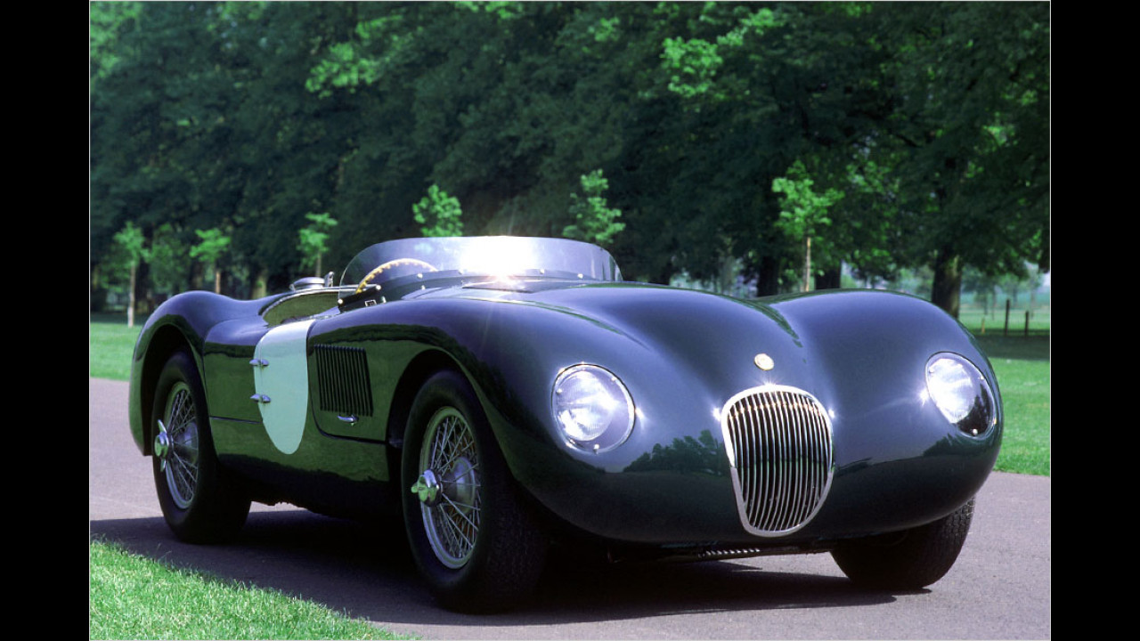 1955 bis 1957: Jaguar D-Type