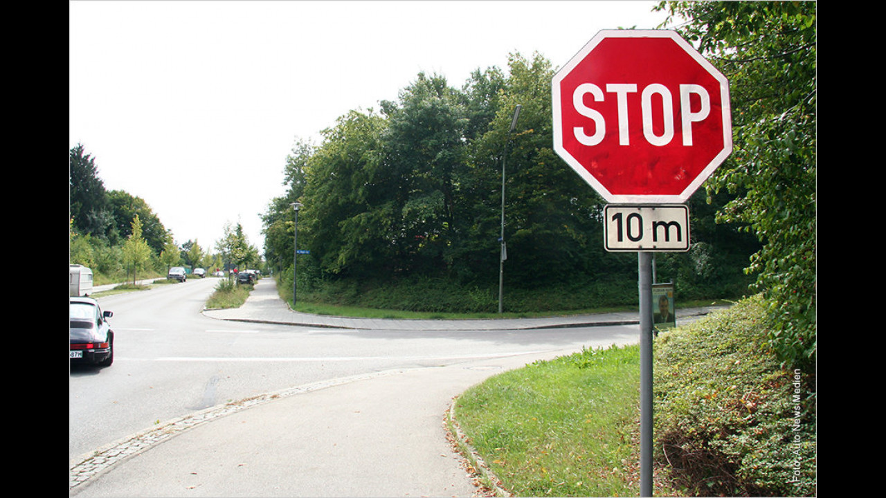 Stopp-Schild: Was heißt eigentlich ,anhalten
