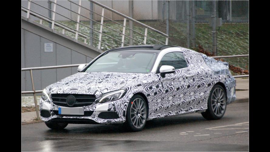 Erwischt: Mercedes C-Klasse Coupé