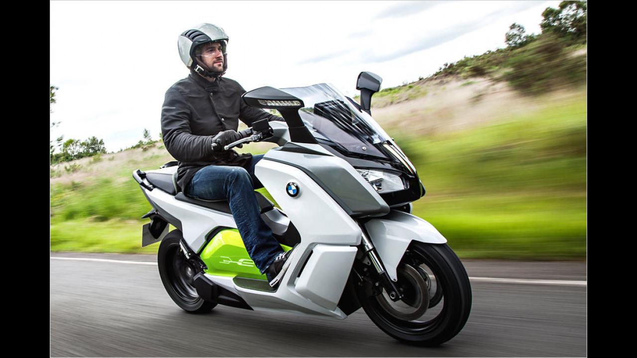 E-Scooter von BMW