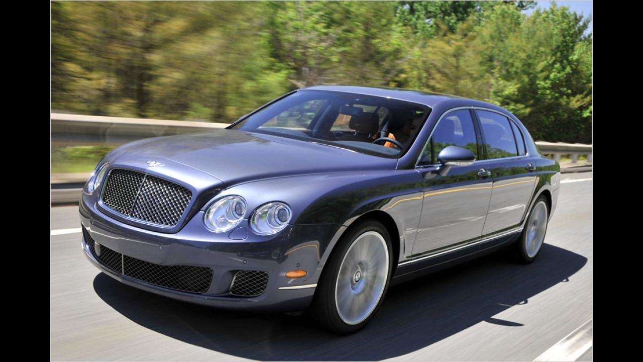 Bentley Flying Spur: 312 km/h