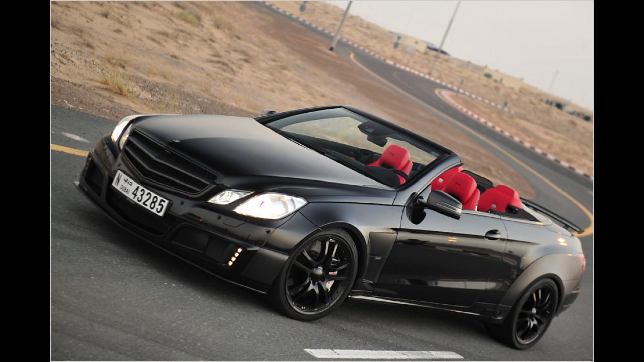 Brabus 800 E V12 Cabrio: 370 km/h