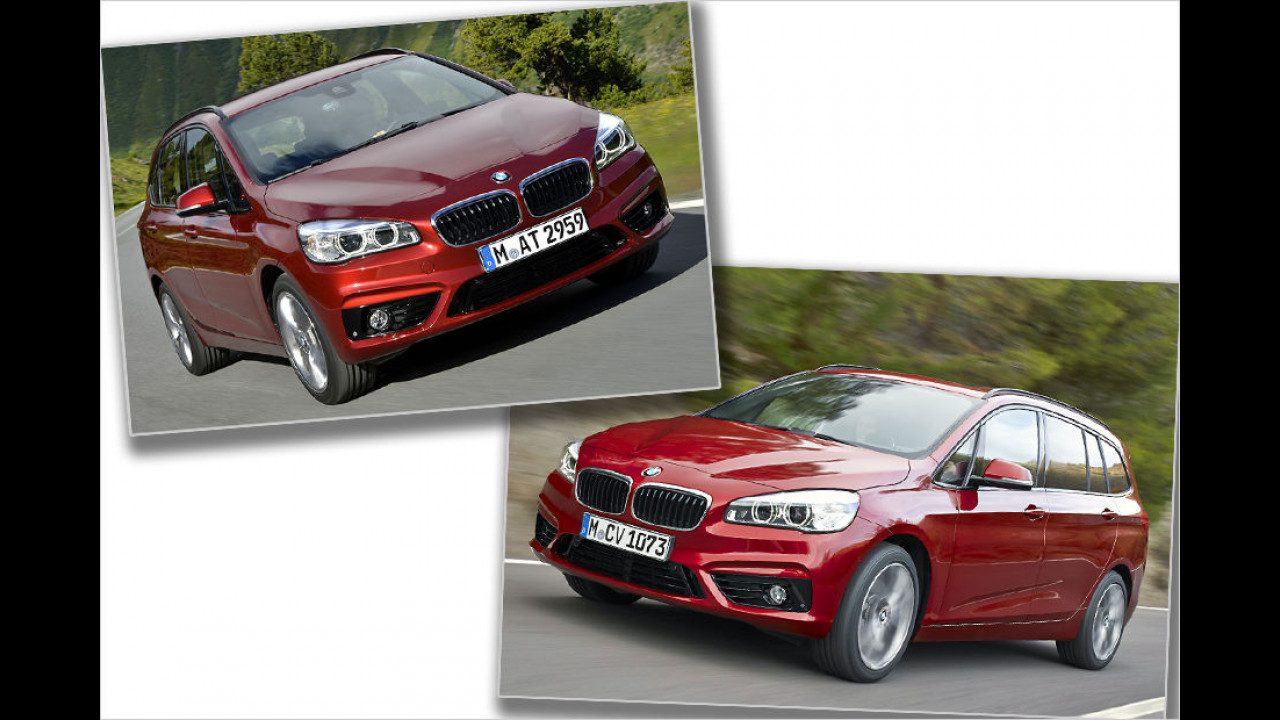 Platz 3: BMW 2er Active Tourer / 2 er Grand Tourer (177 Punkte)