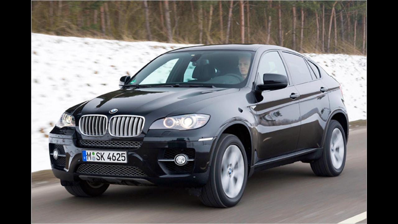 Platz 1: BMW X6 xDrive 4.0d