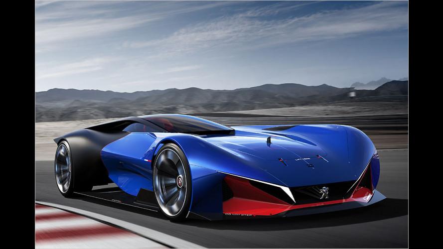 Peugeot L500 R HYbrid: Futuristische Nostalgie