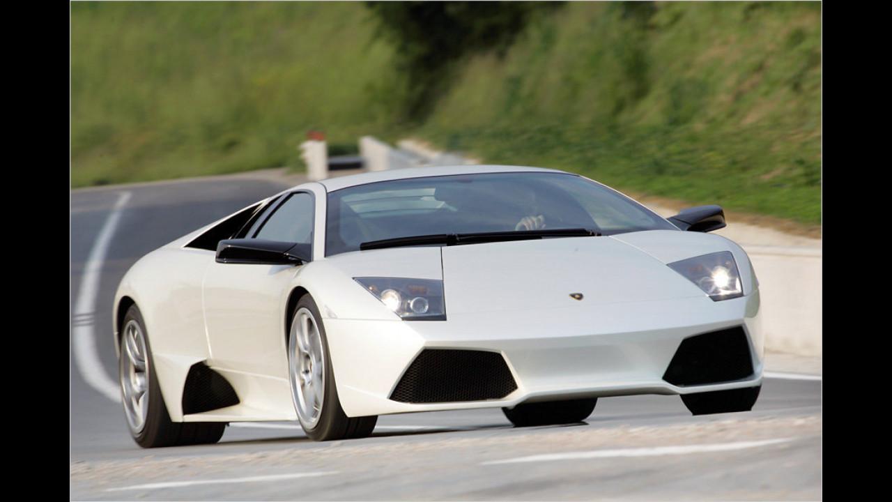 Ein Exemplar: Lamborghini Murciélago