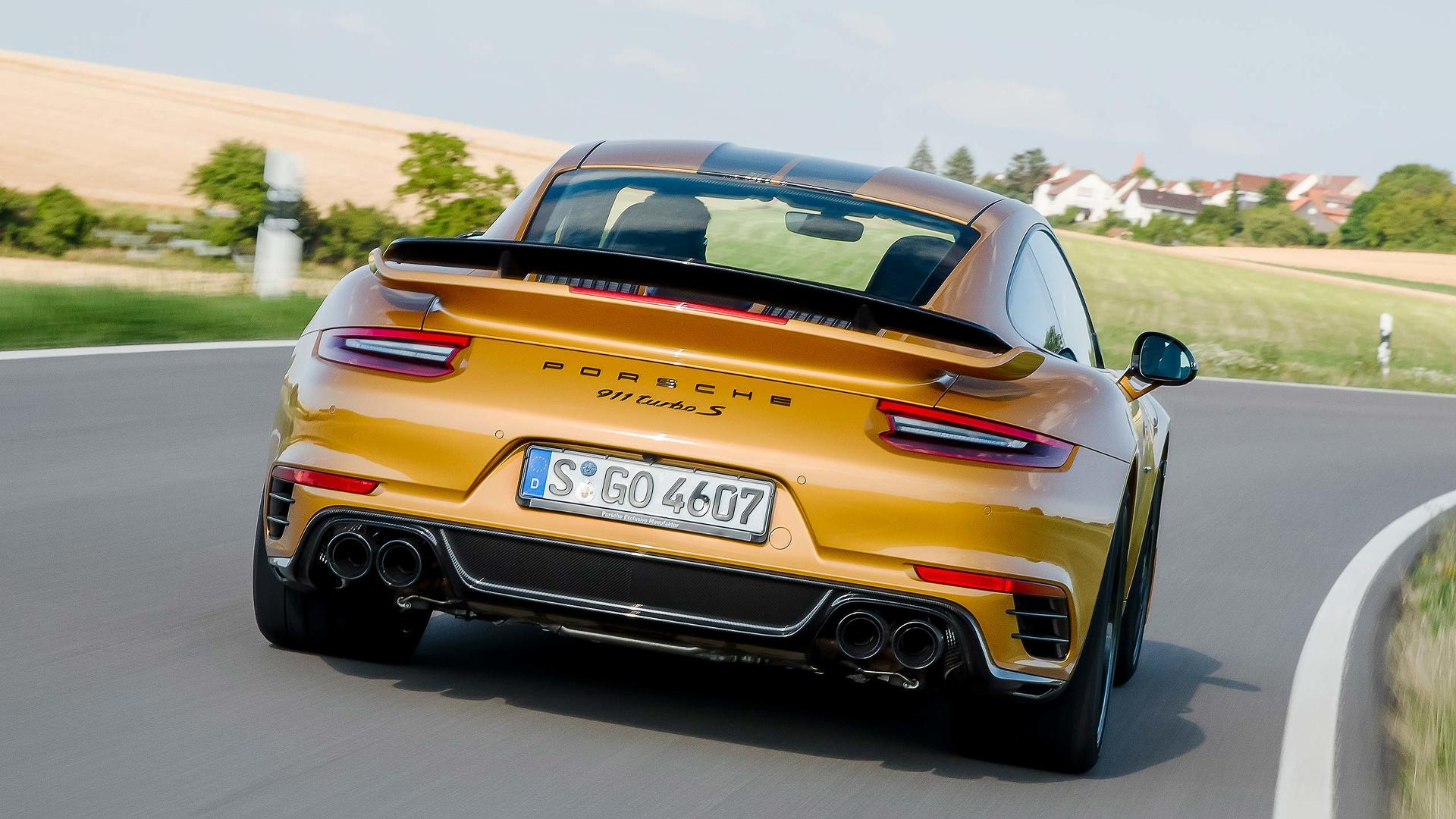 2017 Porsche 911 Turbo S Exclusive Series First Drive Really Fast Expensive