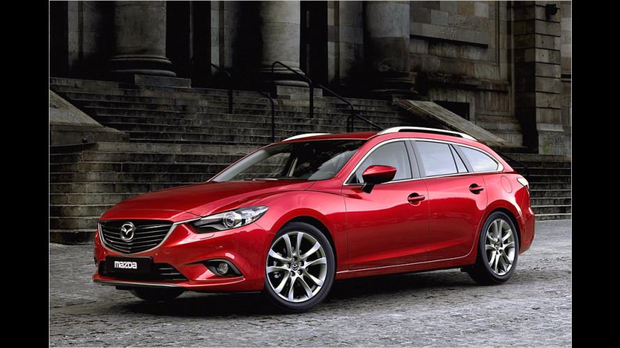Neuer Mazda 6 Kombi debütiert auf dem Pariser Autosalon 2012