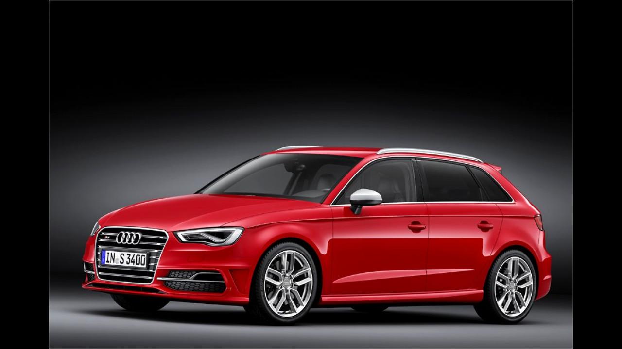 Audi: S3 Sportback prescht heran