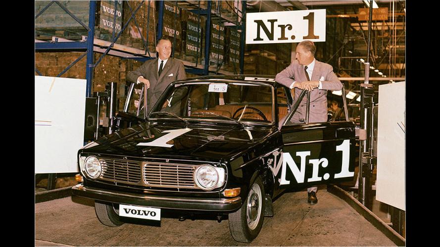 Volvo-Historie: Weltpremiere des Volvo 140 vor 50 Jahren