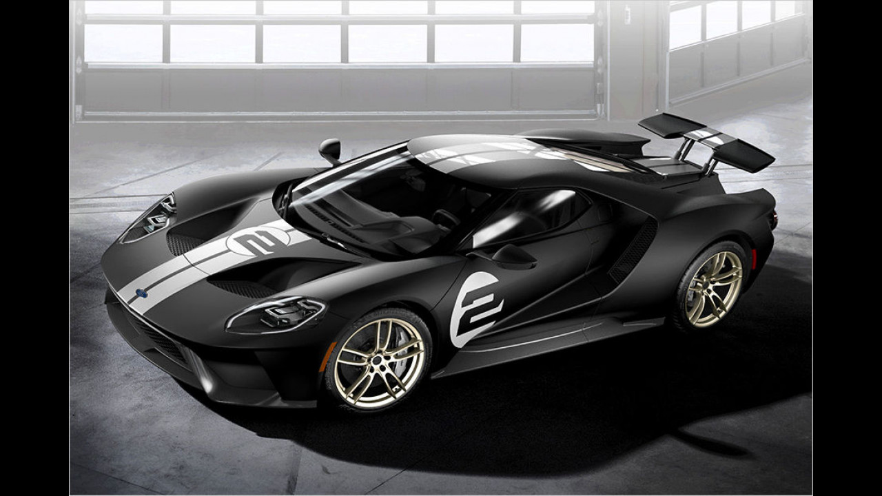 Ford GT `66 Heritage Edition