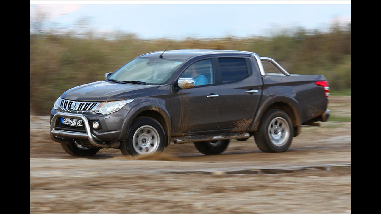 Pick-ups: Mitsubishi L200 Doppelkabine 2.4 DI-D 4WD