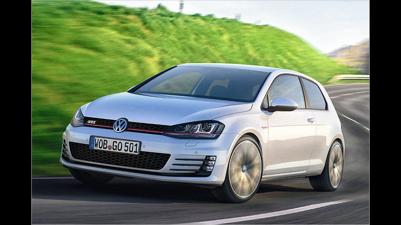 10. Platz: VW Golf GTI Performance