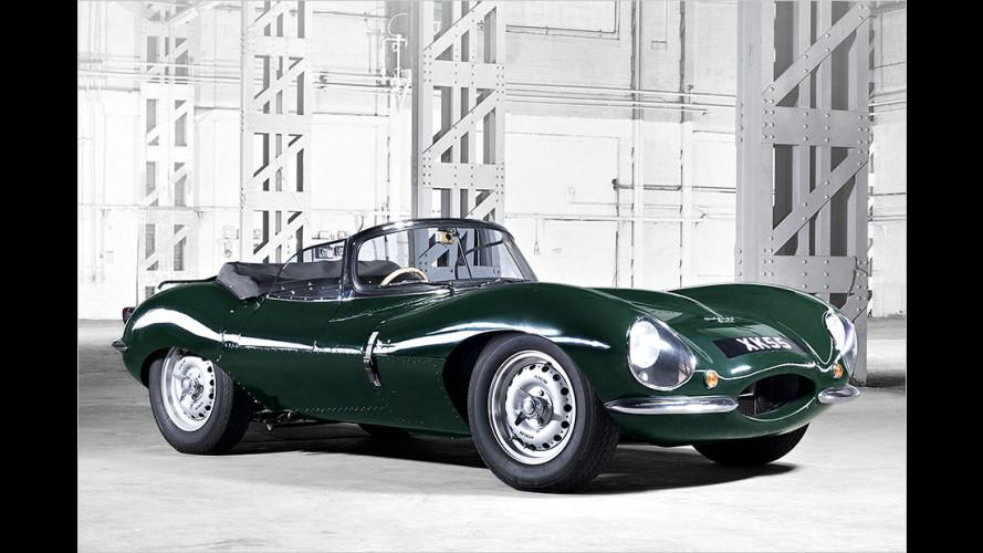 Neun fehlende Jaguar XKSS nachgebaut