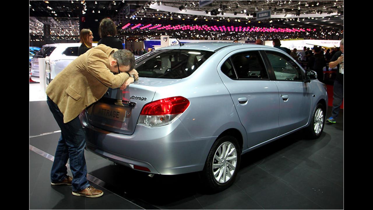 Flop: Mitsubishi Attrage