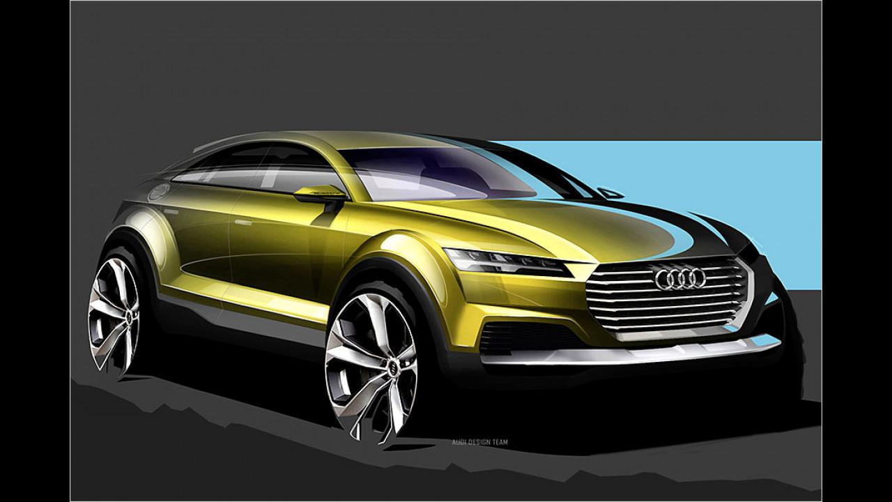 Audi zeigt TT-SUV in Peking