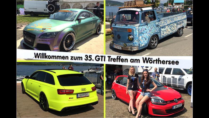 Das 35. GTI-Treffen 2016 am Wörthersee