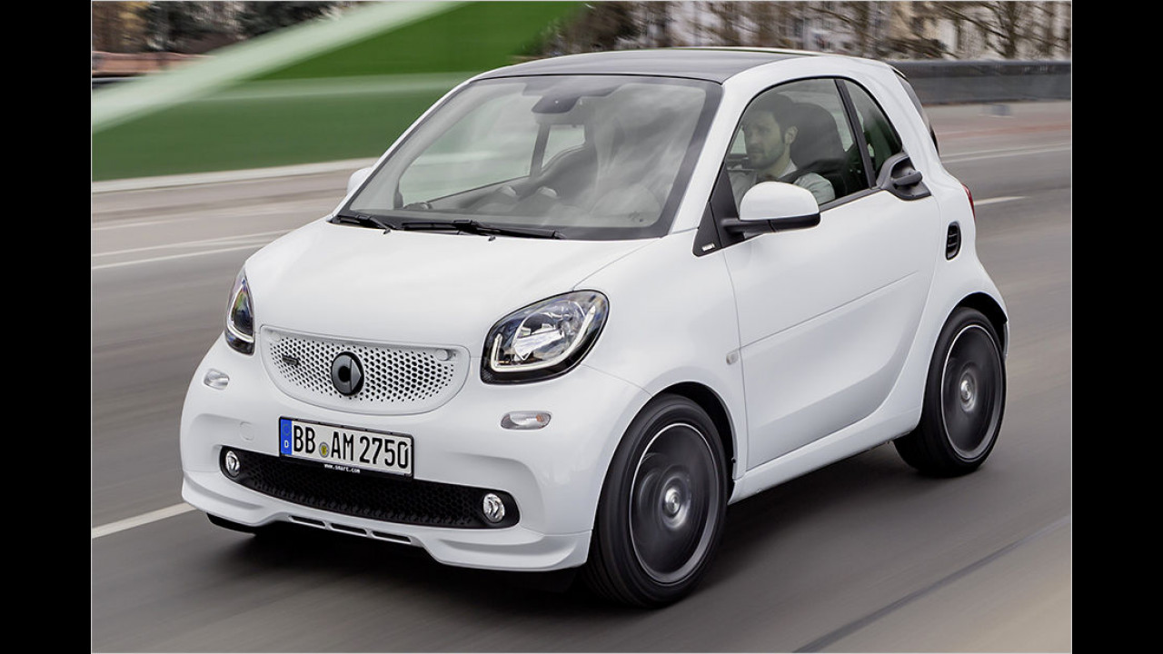 Smart Fortwo und Forfour Brabus