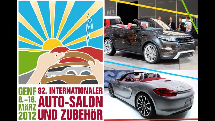 Genfer Autosalon 2012: Die schönsten Cabrios und Roadster