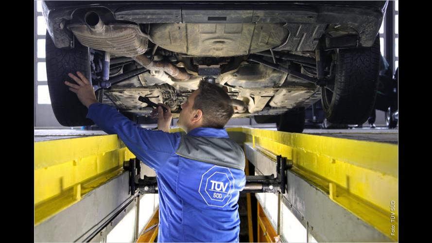 TÜV-Report 2012: Die Tops und Flops