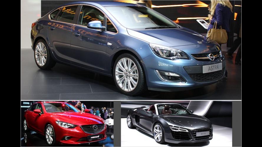 Vom neuen Mazda 6 bis zum Lamborghini Urus