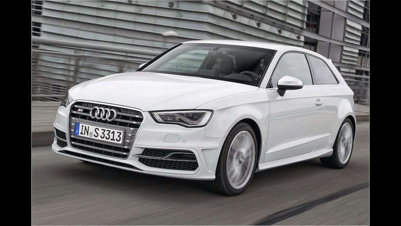 4. Audi S3: 4,8 Sekunden
