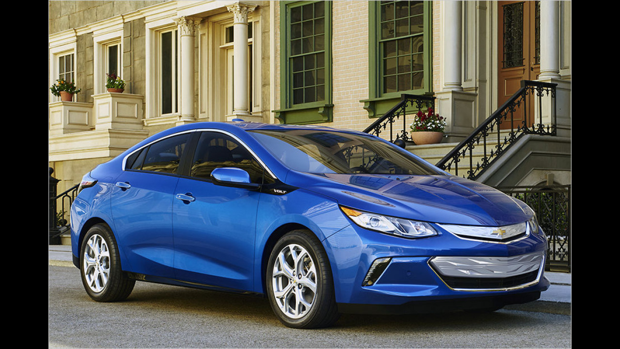Chevrolet Volt: Platz 3 ,World Green Car of the Year