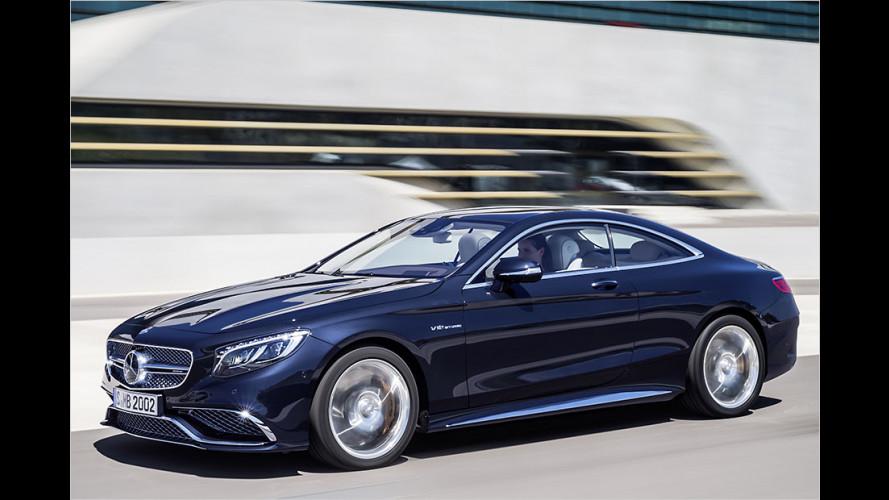Das Mercedes S-Klasse Coupé: AMG die Zweite