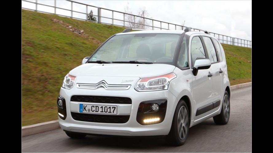 Citroën C3 Picasso HDi 90 (2013) im Test: Kleinwagen-Van mit Diesel