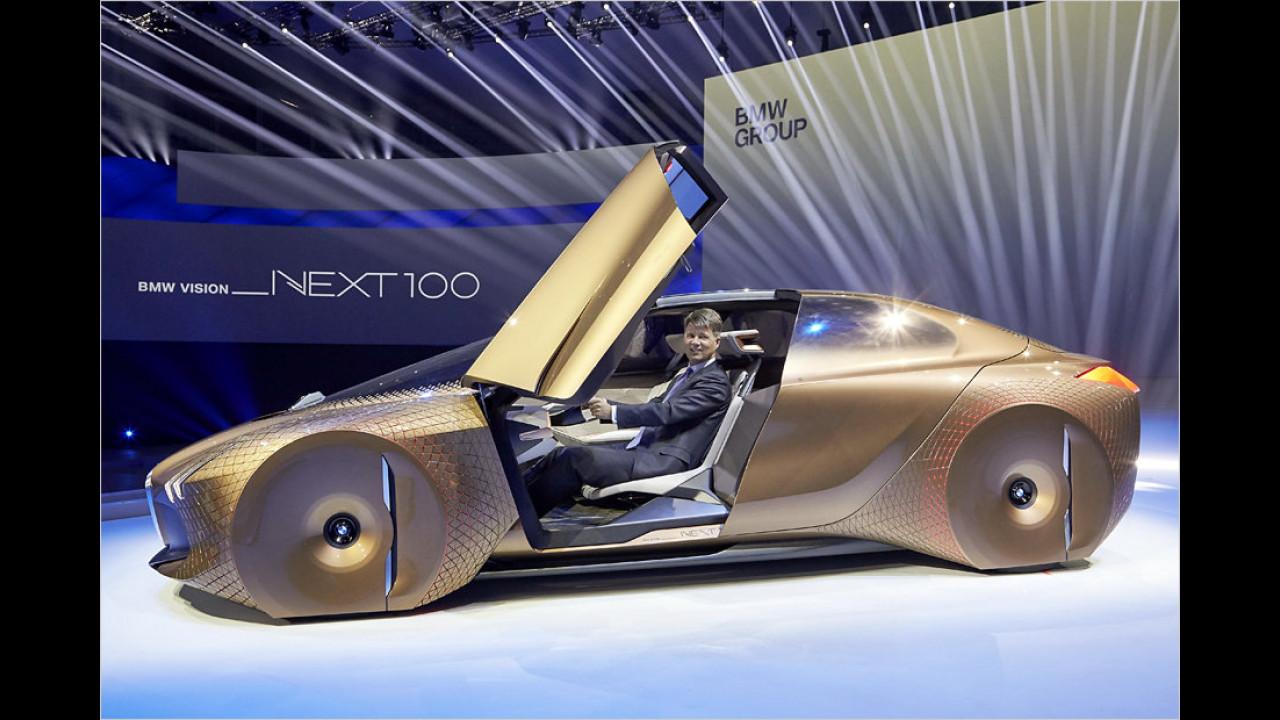 7. März 2016: BMW Vision Next 100