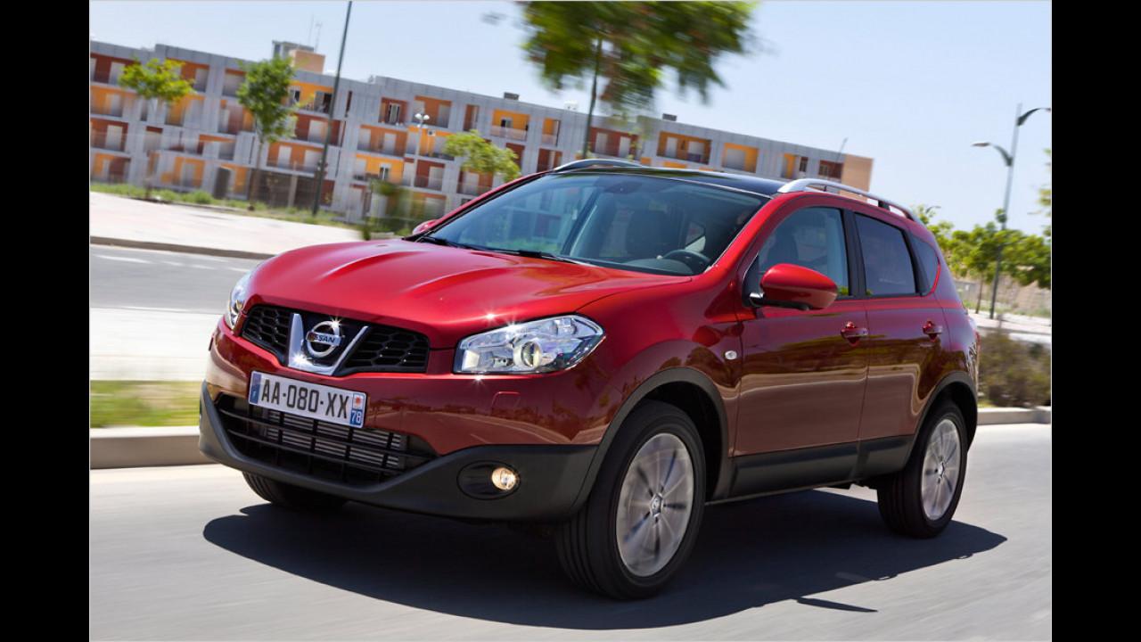 Top: Nissan Qashqai