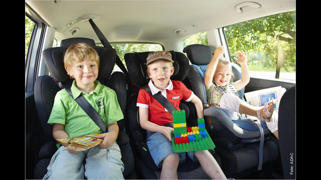 Verstoß gegen die Gurtanlege- und Kindersicherungspflicht