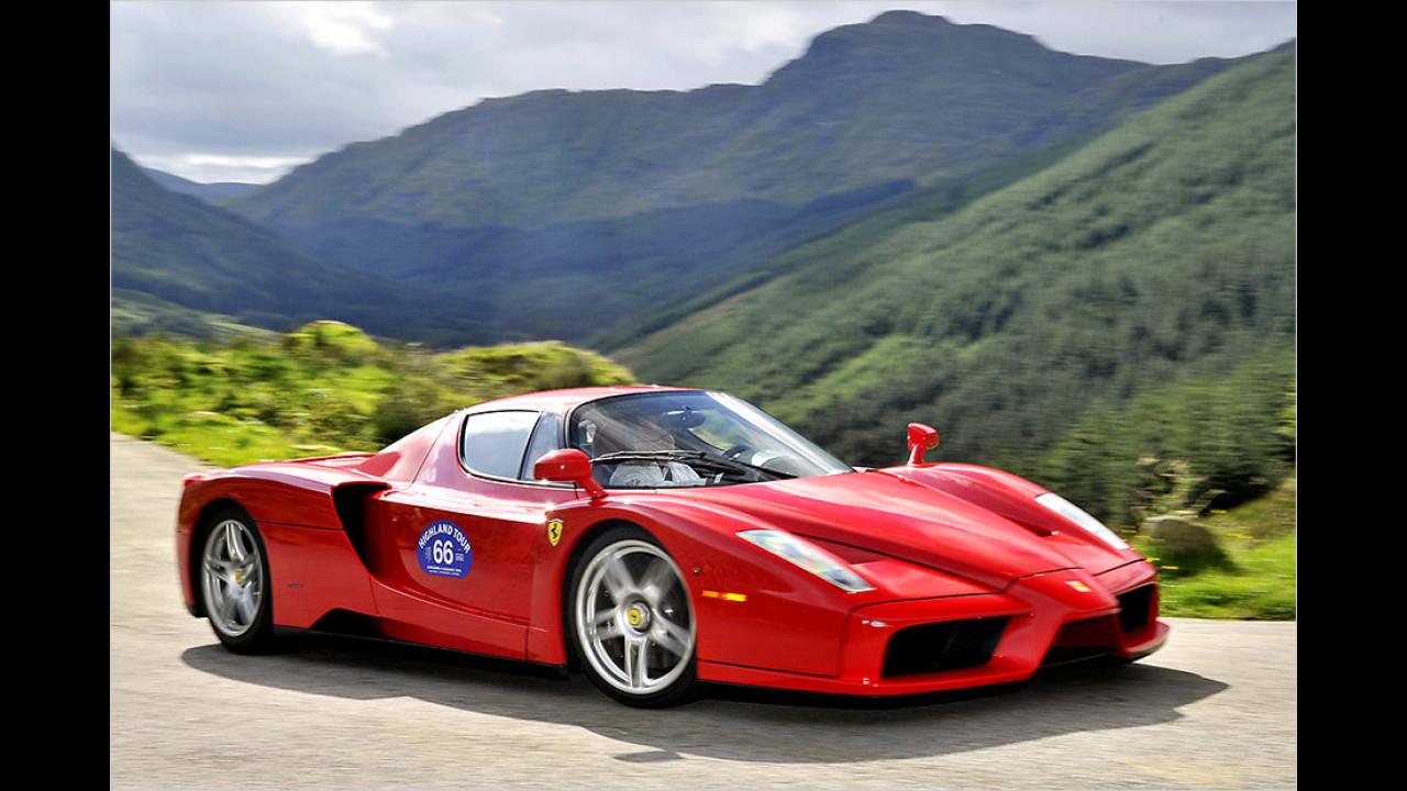 Ferrari Enzo: 7:25 Minuten (schnellster Ferrari)