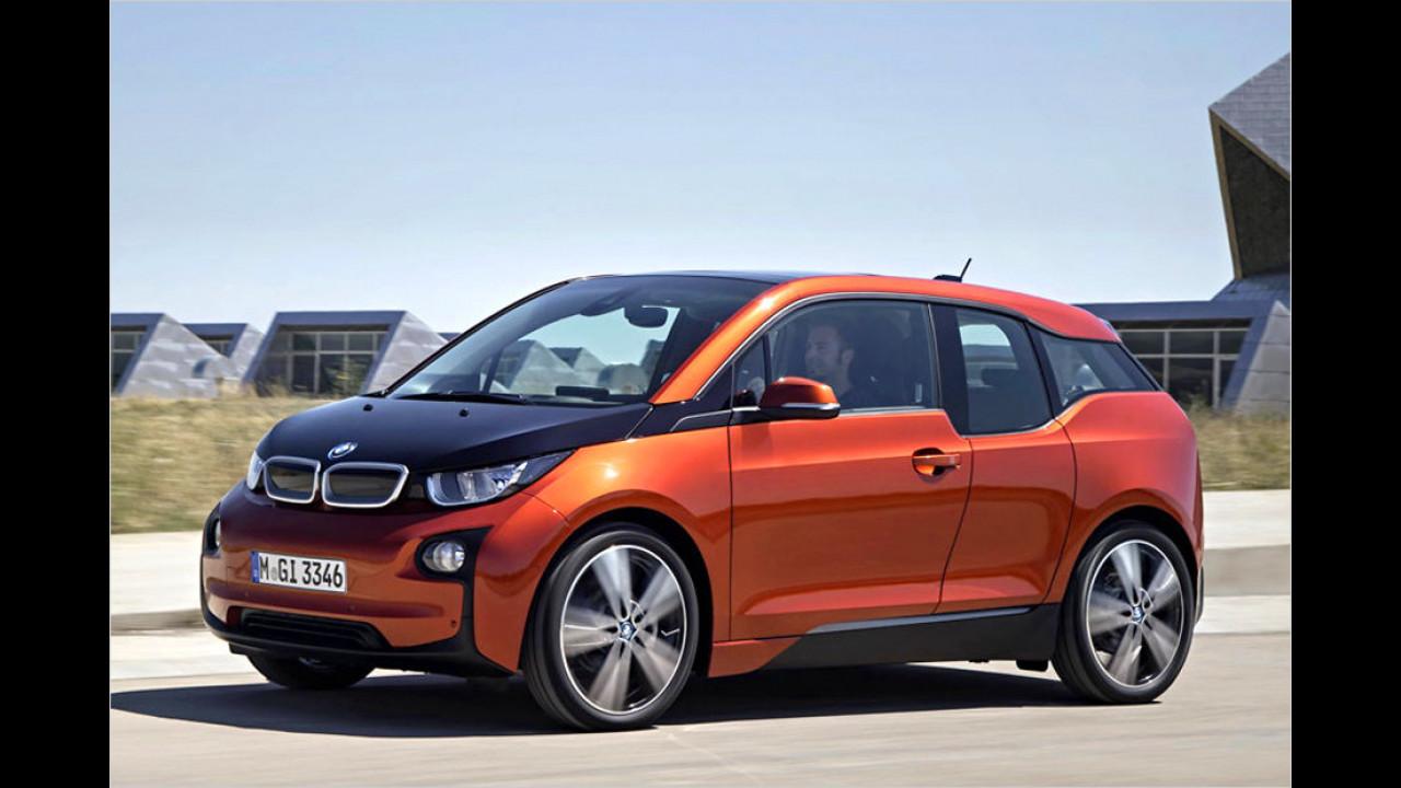 BMW: 127-kW-Elektromotor mit Range Extender (BMW i3)