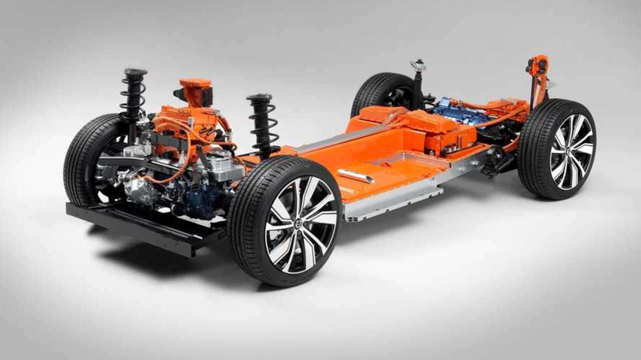 Volvo XC40 elettrico