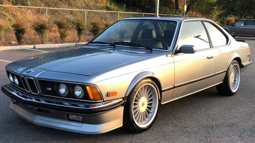 Own This Meticulously Maintained 1985 BMW M6 Euro