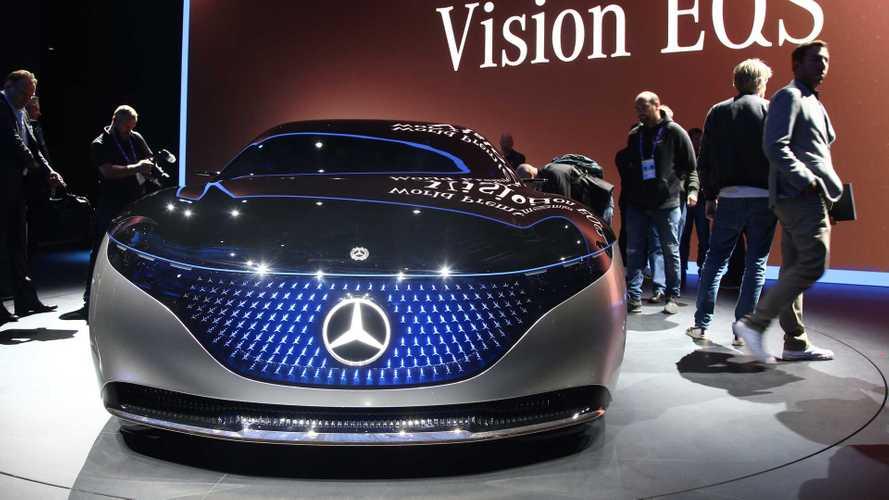 Mercedes Vision EQS - La Tesla Model S en ligne de mire !