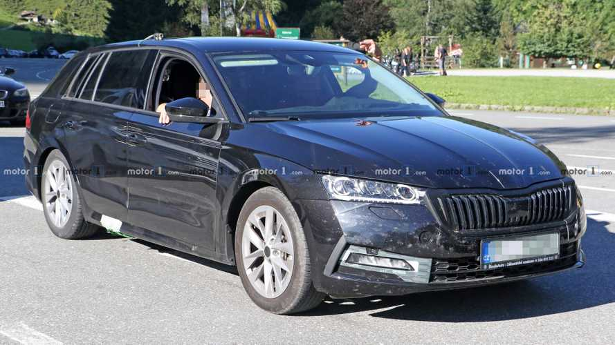 2020 Skoda Octavia spied inside and out looking more upmarket
