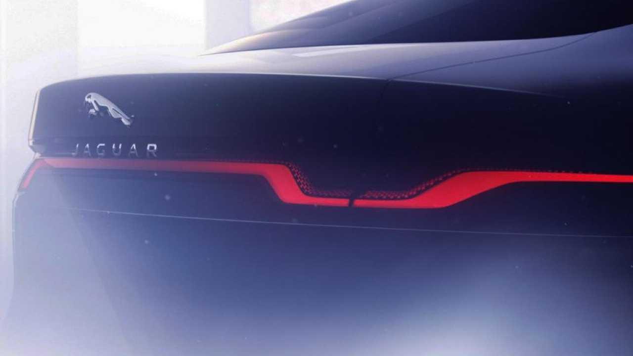 Teaser Jaguar XJ