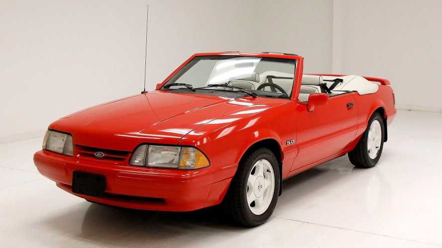 Let Your Hair Blow In This 1992 Ford Mustang Convertible Survivor