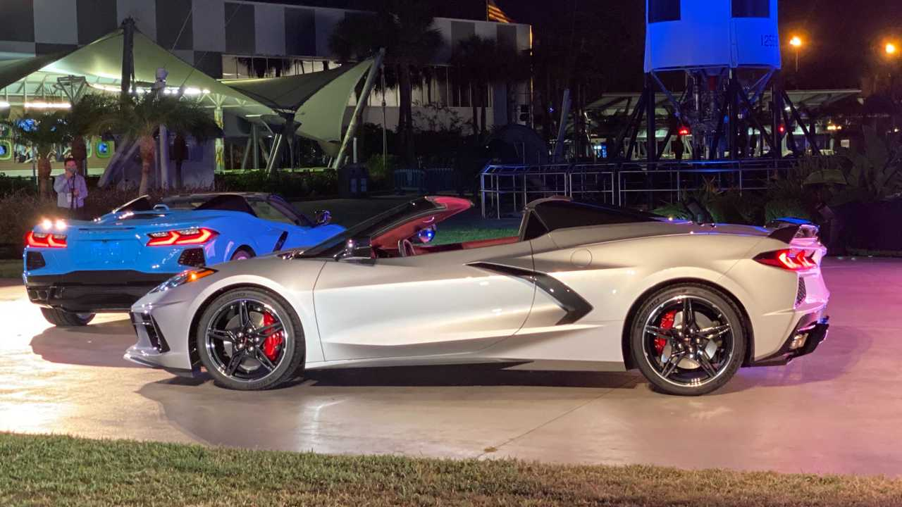 2020 Chevy Corvette Convertible Debuts Its Trick Folding ...