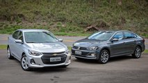 Comparativo: Chevrolet Onix Plus x VW Virtus