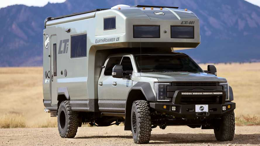 EarthRoamer Introduces Carbon Fiber-Bodied LTi Expedition Vehicle