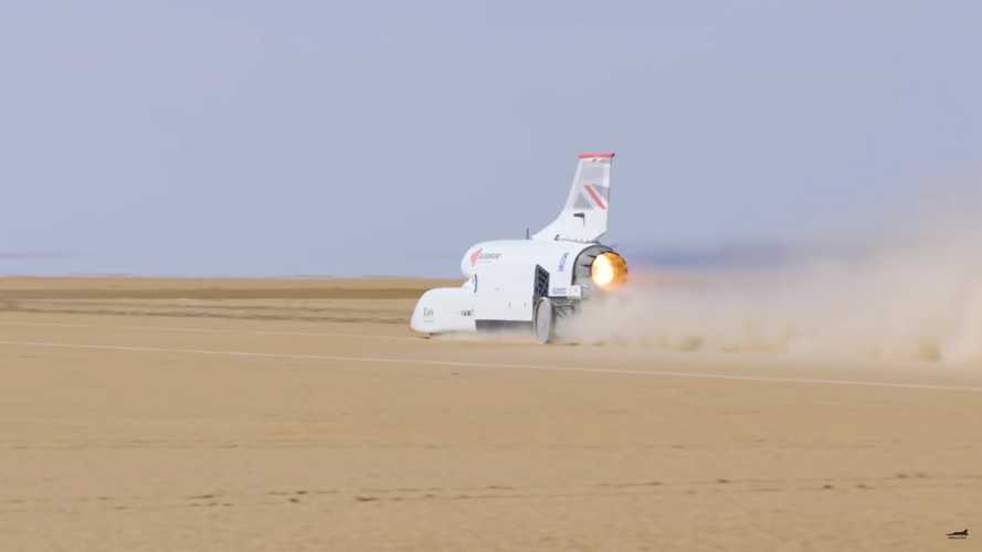 Bloodhound LSR Nips At 500 MPH In Latest High-Speed Test